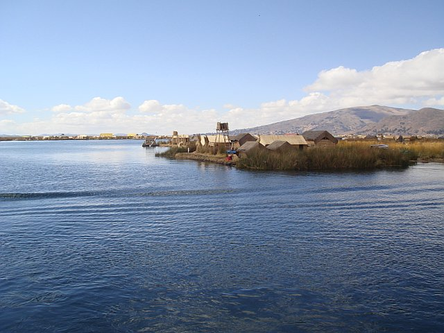 Floating Islands, Lake Titicaca, Peru